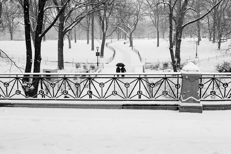 Черно-белый Нью-Йорк Дэйва Бекермана - №16