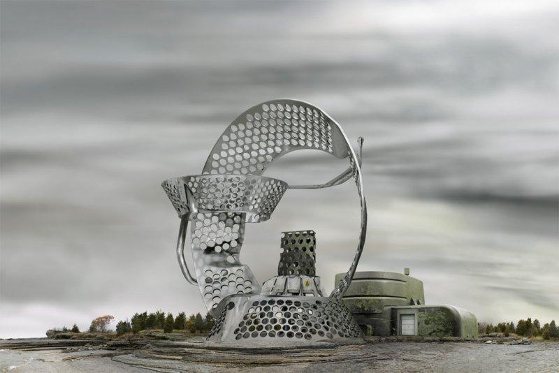 Архитектурные фантазии из домашних предметов - №3