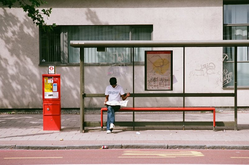Автобусные остановки фотографа Richard Hooker - №3