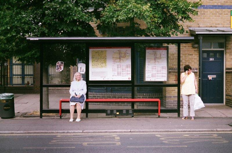 Автобусные остановки фотографа Richard Hooker - №7