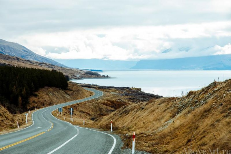 Albert Oriol «Дороги новой Зеландии» - №11