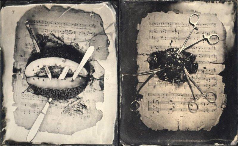 Амбротипия. Удивительные фотографии Миши Бурлацкого. - №23