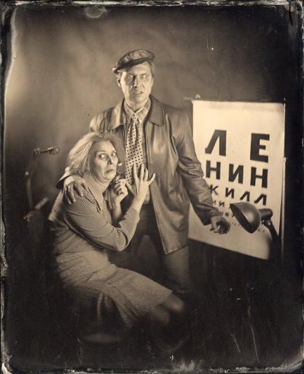 Амбротипия. Удивительные фотографии Миши Бурлацкого. - №3