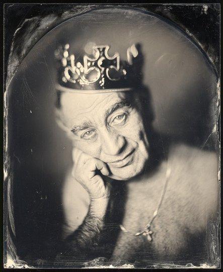 Амбротипия. Удивительные фотографии Миши Бурлацкого. - №11