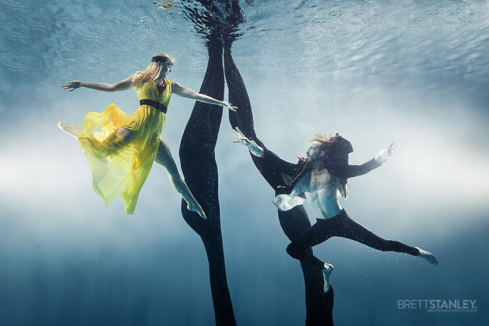"""Brett Stanley """"Подводный цирк"""" - №3"""