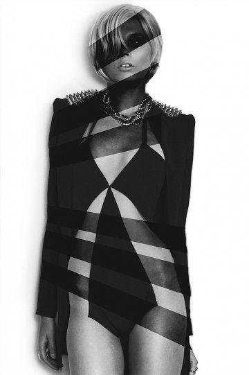 Экстравагантные фотографии моды Брайана Зиффа - №12