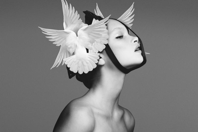 Экстравагантные фотографии моды Брайана Зиффа - №2