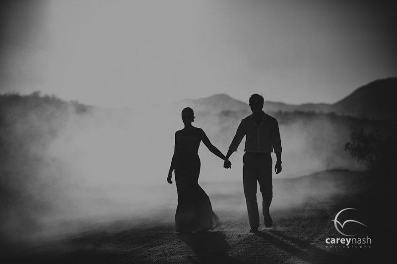 Необычные свадебные фотографии от Кэри Нэша - №4