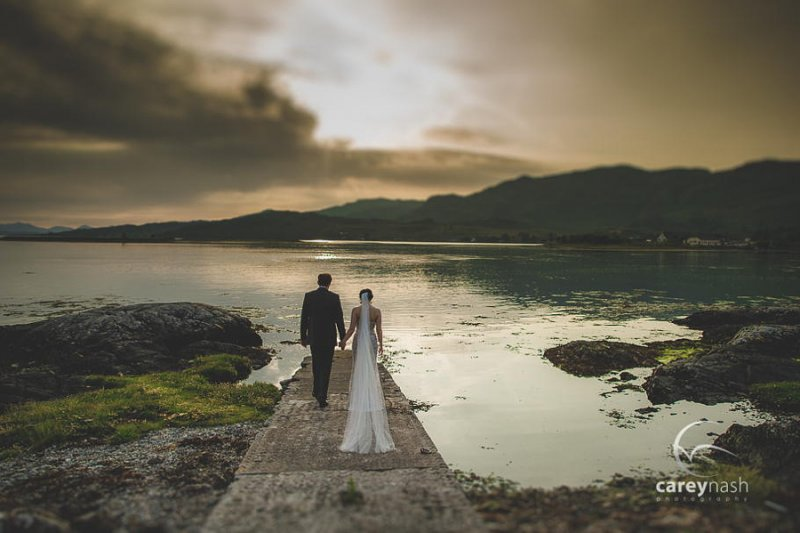 Необычные свадебные фотографии от Кэри Нэша - №8