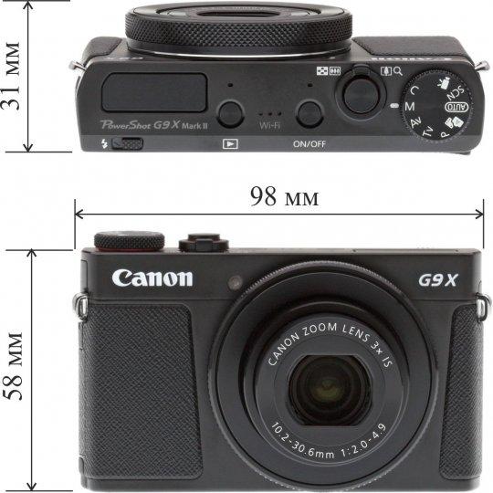 Размеры камеры