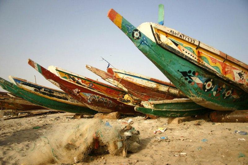 Порт в Нуакшоте, Мавритания