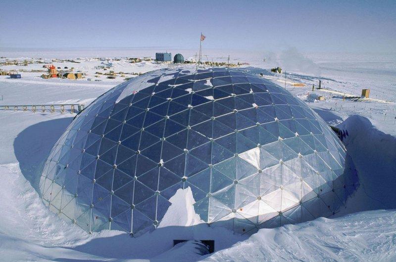 Станция Амундсен-Скотт на Южном полюсе