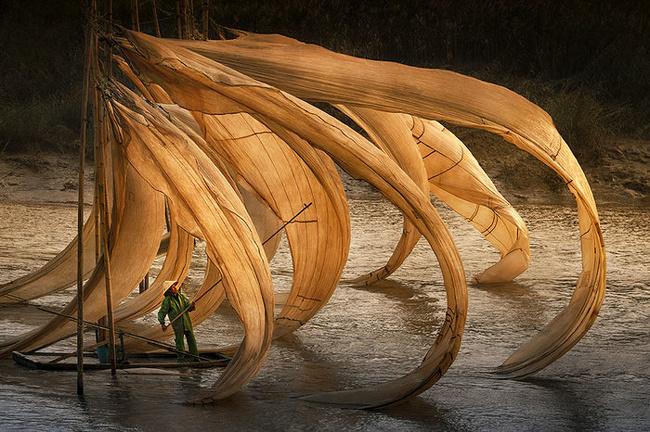 «Летающие рыболовные сети». Денни Вонг, Малайзия