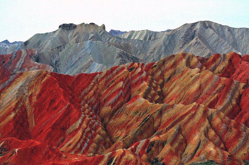 Красивые пейзажи китайской провинции Ганьсу - №1