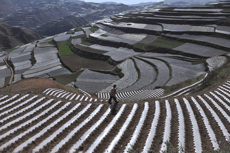 Красивые пейзажи китайской провинции Ганьсу - №13