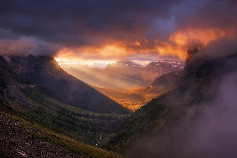 Национальный парк Глейшер - №1