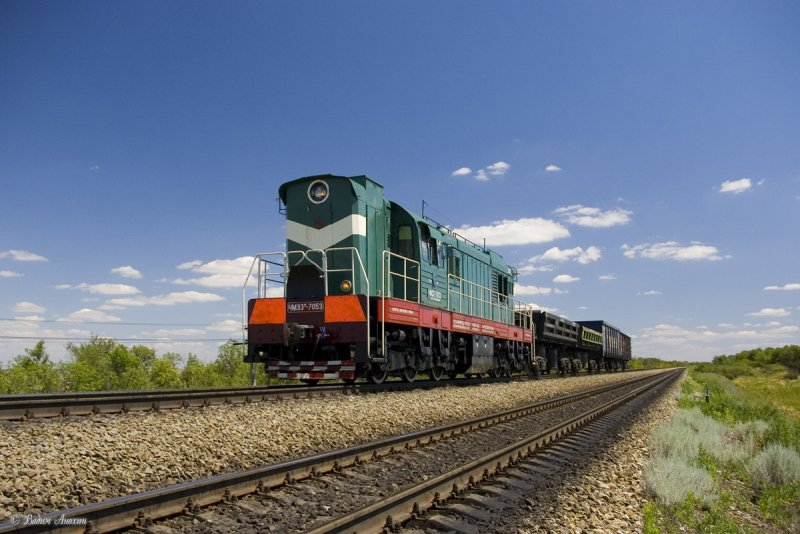 Diesel shunter ChME3T-7053
