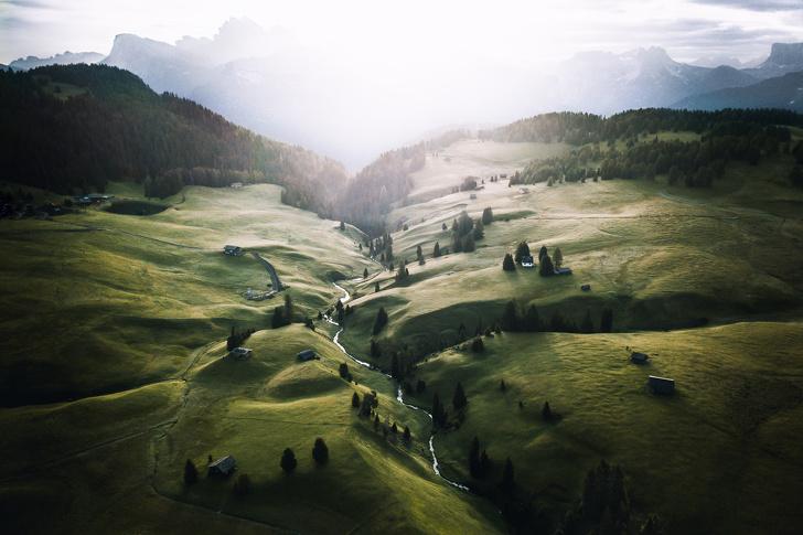 Альпе-ди-Сьюзи, Италия