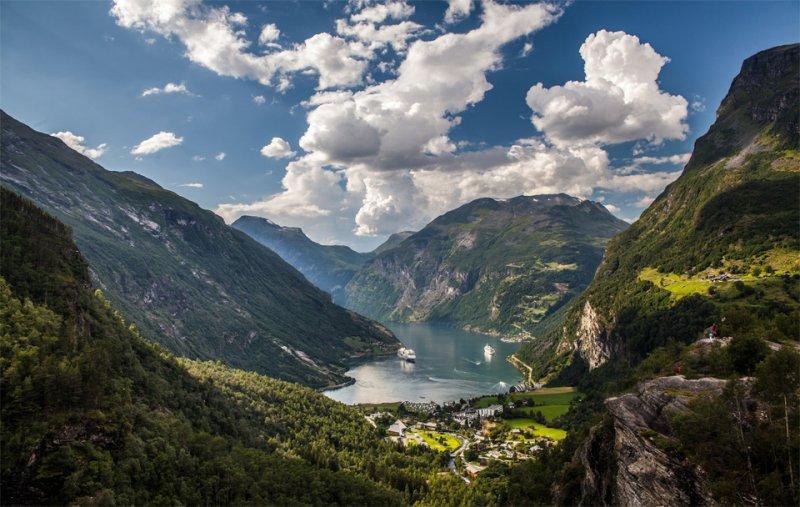 Роскошные пейзажи Норвегии - №5
