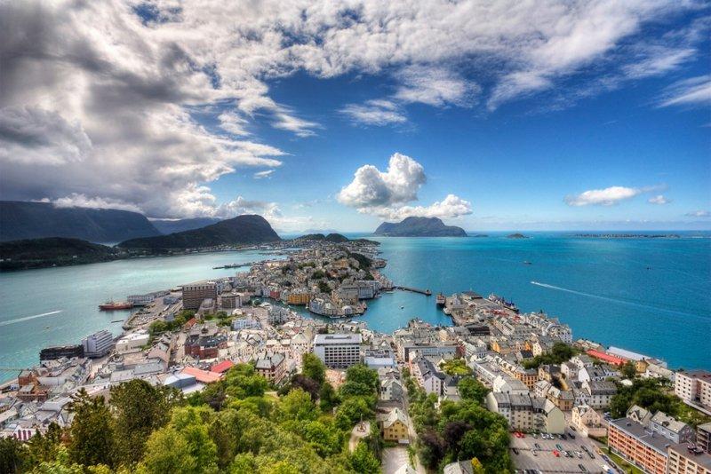 Роскошные пейзажи Норвегии - №8