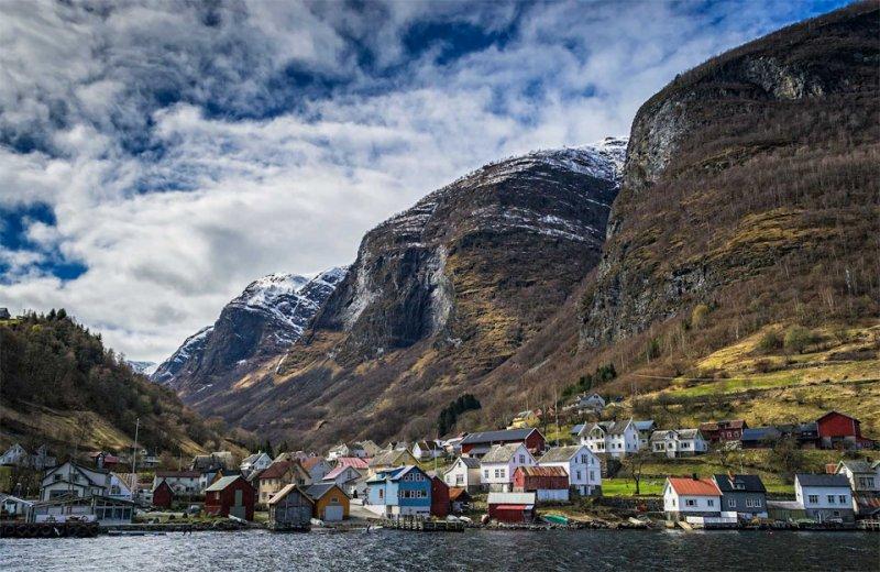 Роскошные пейзажи Норвегии - №14