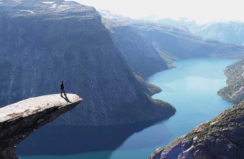 Роскошные пейзажи Норвегии - №20