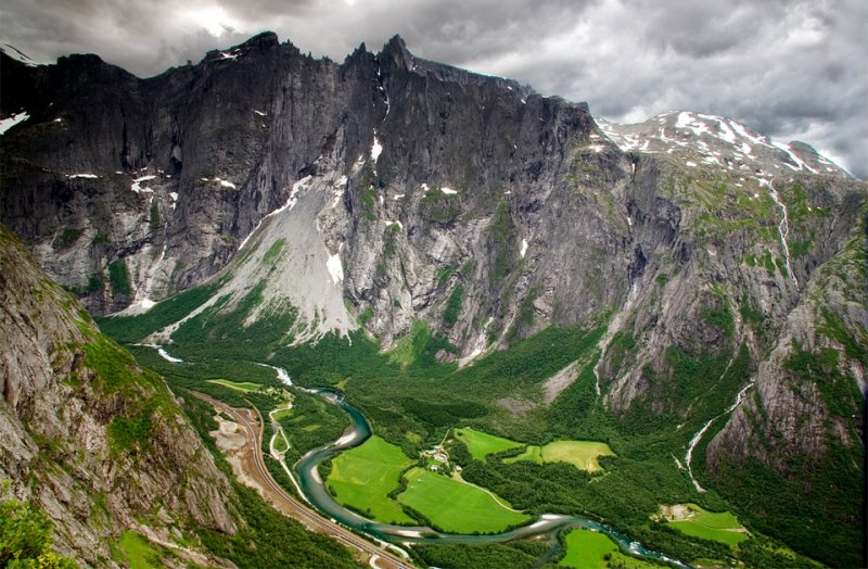 Роскошные пейзажи Норвегии - №21