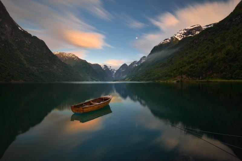 Красивые пейзажные фотографий со всей Земли - №23