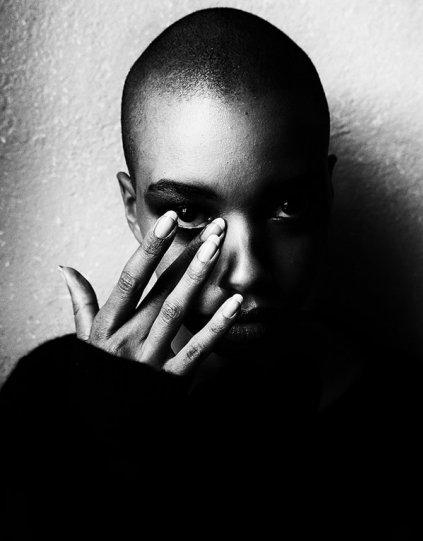 Потрясающие чёрно-белые портреты - №26