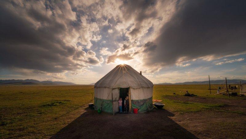 Потрясающие пейзажи Киргизии - №21