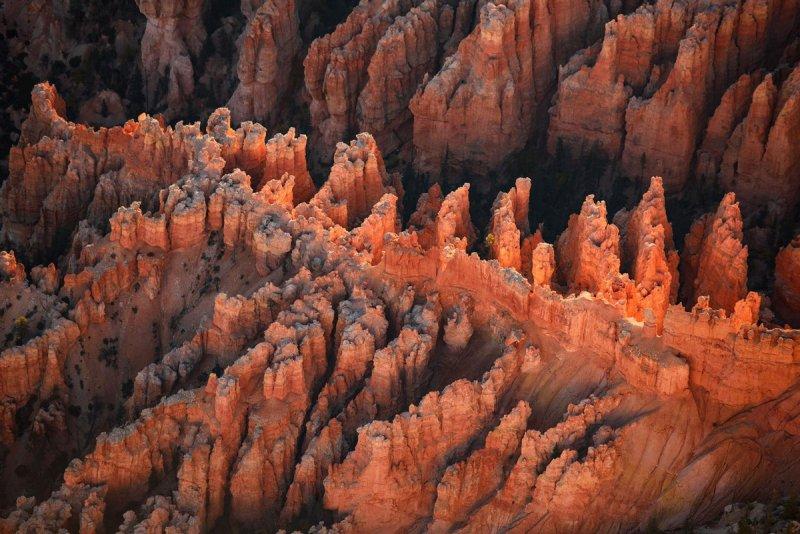 Национальный парк Брайс-Каньон на рассвете.