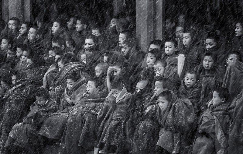 Автор фото: Цинцзюнь Ронг. Место: храм Герденг, уезд Нгава, провинция Сычуань