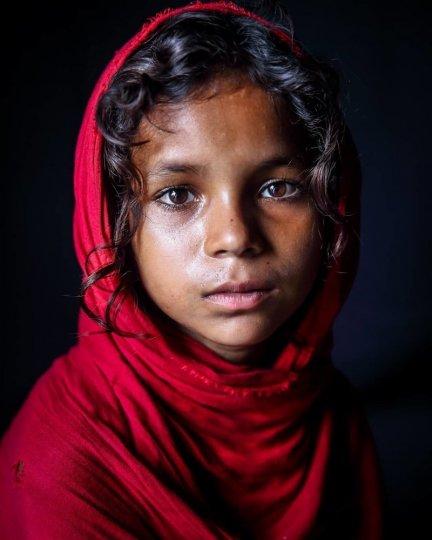 Детские портреты от фотографа Моу Айши - №7