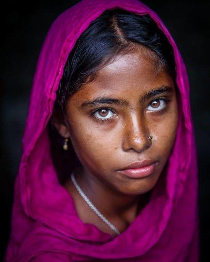 Детские портреты от фотографа Моу Айши - №8