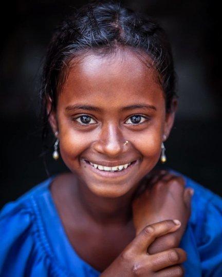 Детские портреты от фотографа Моу Айши - №9