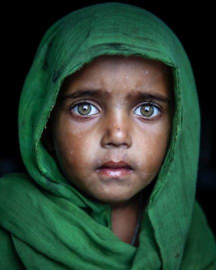 Детские портреты от фотографа Моу Айши - №11