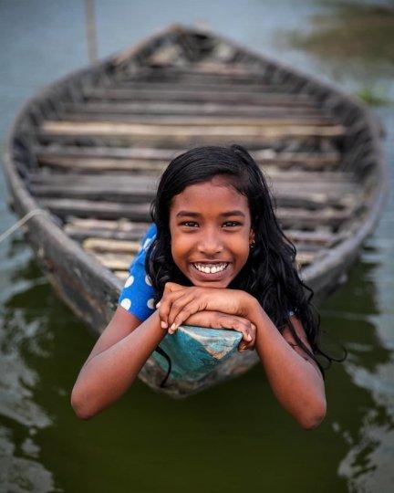 Детские портреты от фотографа Моу Айши - №16