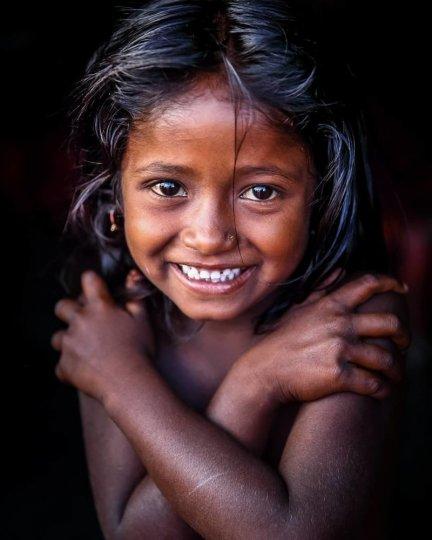 Детские портреты от фотографа Моу Айши - №18
