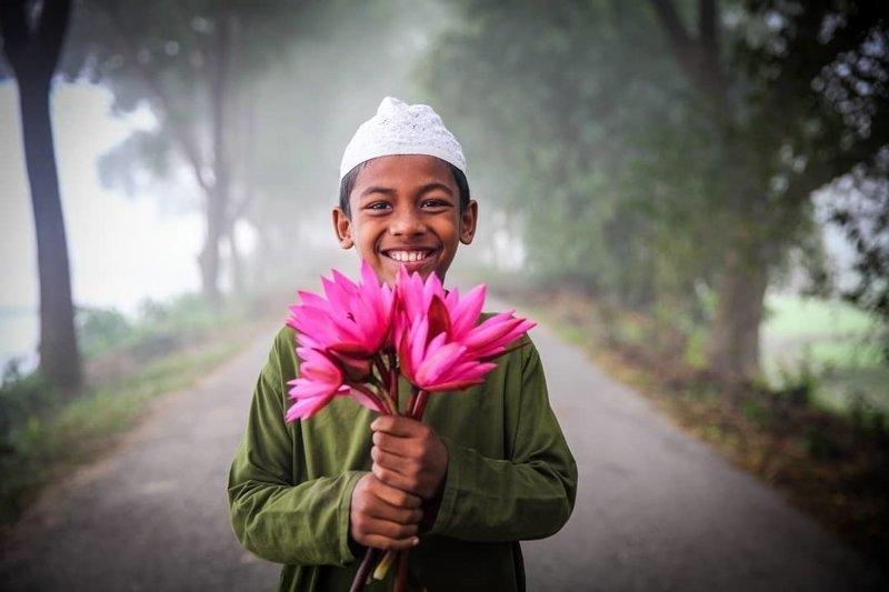 Детские портреты от фотографа Моу Айши - №3