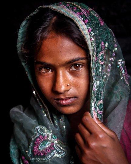 Детские портреты от фотографа Моу Айши - №21