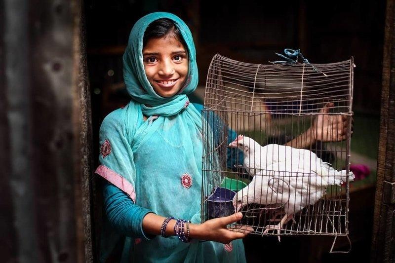Детские портреты от фотографа Моу Айши - №5