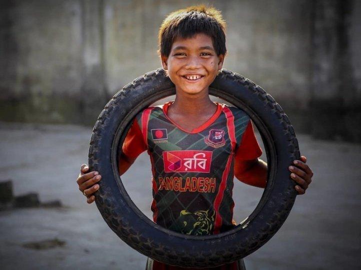 Детские портреты от фотографа Моу Айши - №4