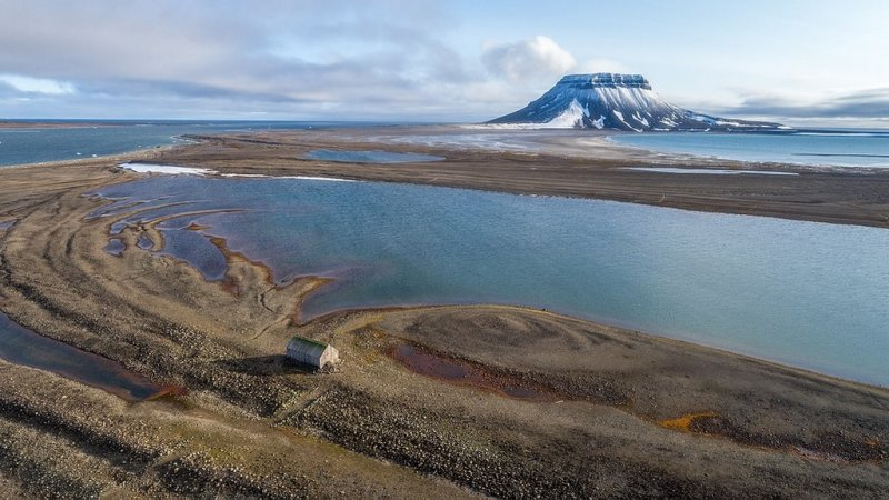 Остров Белл архипелага Земля Франца-Иосифа. Автор фото: Илья Тимин.