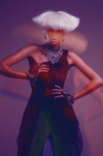 Экстравагантные фотографии моды Брайана Зиффа - №18