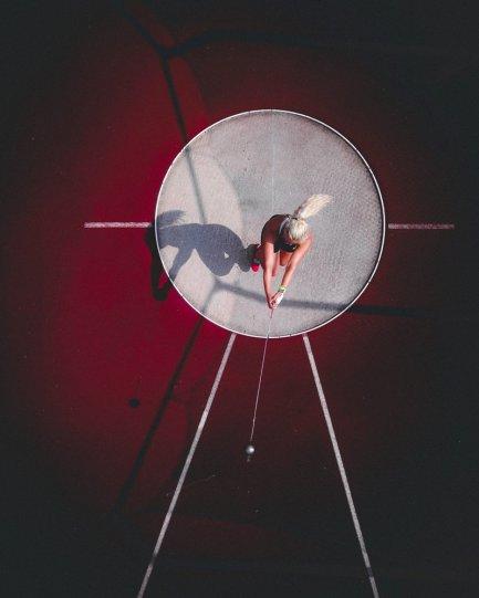 3 место. Чемпионка Эстонии по метанию молота Кати Оялоо. Автор фото: Таави Пурцак.