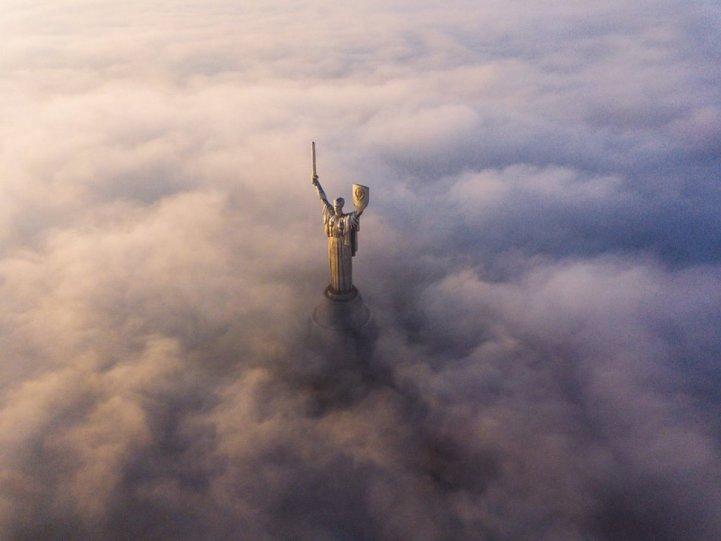 «Родина-мать», Киев. Автор фото: Сергей Ристенко.