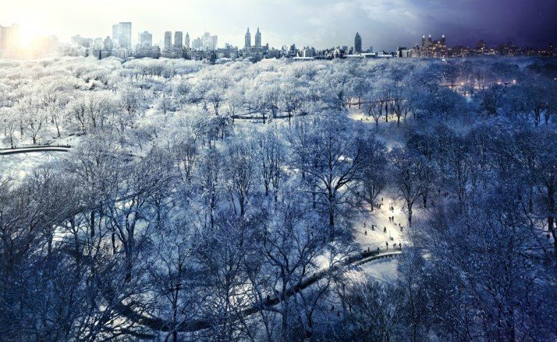 Городские пейзажи Стивена Уилкса - №6