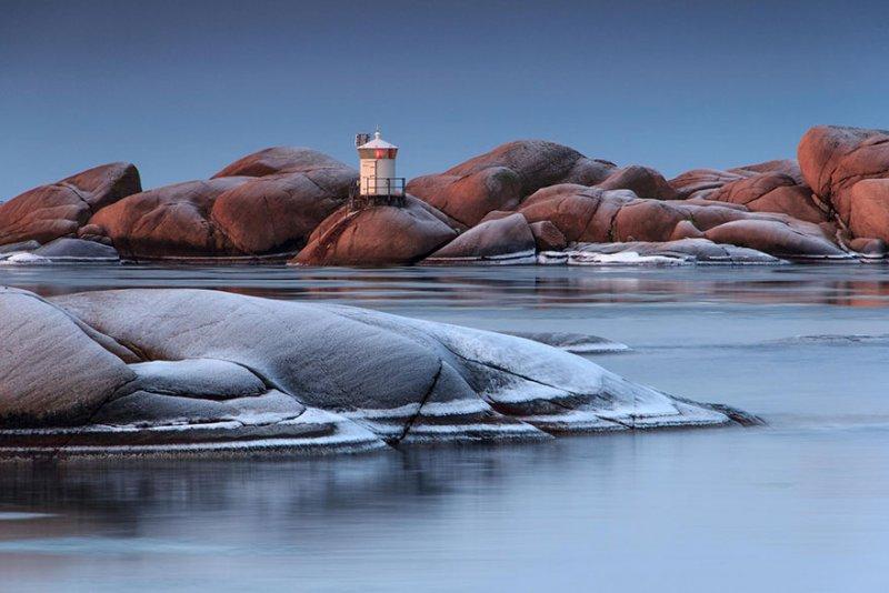 Stangholmen в Люсечиль, Швеция. Фото: Хенрик Алеборг