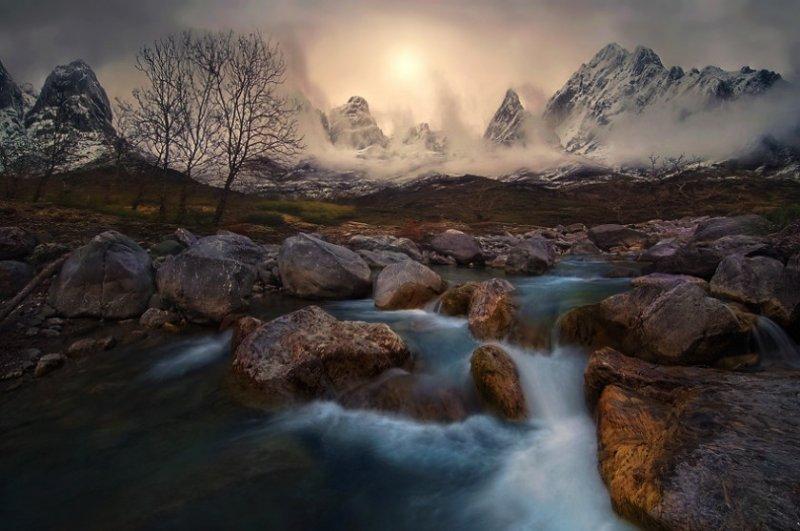 Живописные пейзажи Криса Каддаса - №13