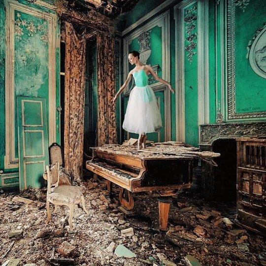 Сюрреализм в фотографиях Роберта Янса - №1